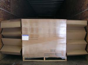 Single pack, pallet-sized, side-to-side Void Filler